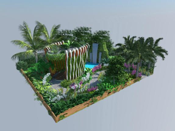 Show Garden: Hidden Garden of Kranji