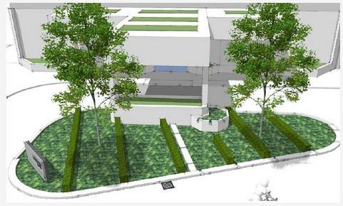 Visualisation of the Rain Garden