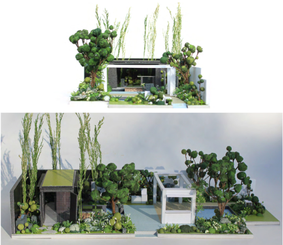 East Meets West Show Garden, designed by Watahan Research Institute