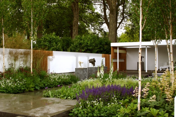 The GOLD winning Saville Garden in 2006, designed by Philip Nixon & Marcus Barnett