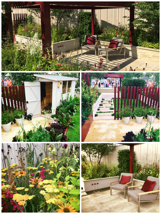The beautiful Squires Garden designed by Catherine MacDonald